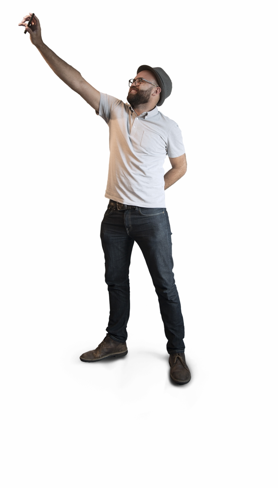 Person Taking Selfie Png, Transparent Png Download For Free.