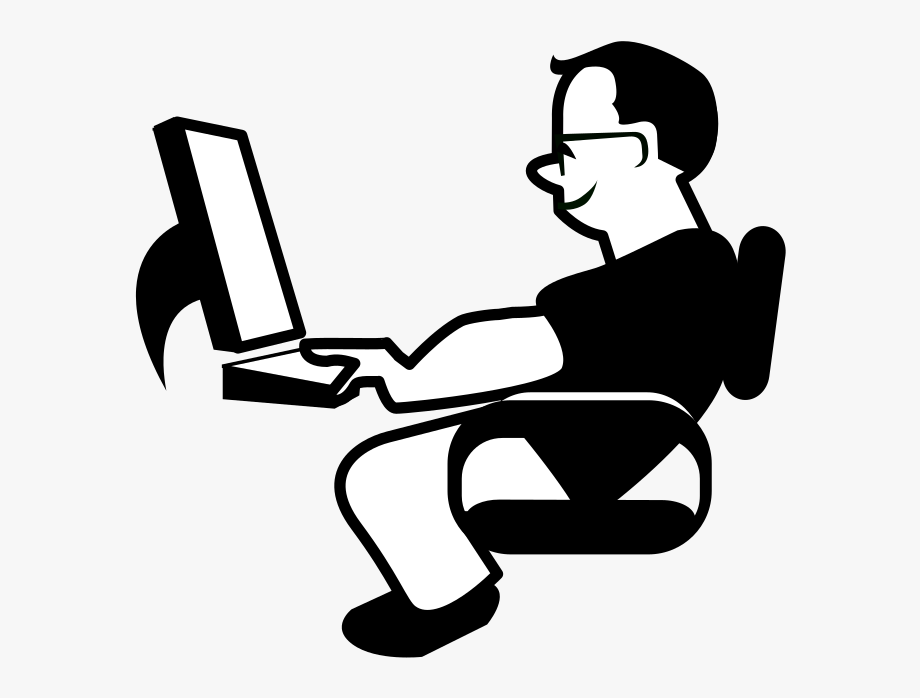 Person On The Computer].