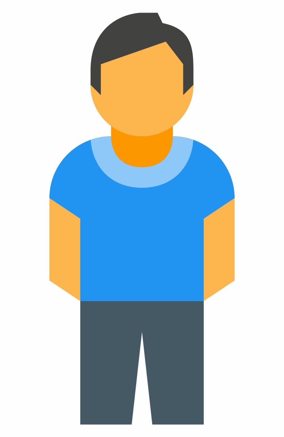 Person Vector Png Full Body Person Icon.