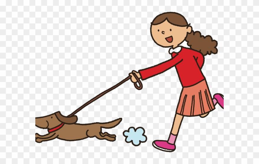 Dog Clipart Clipart Dog Walk.