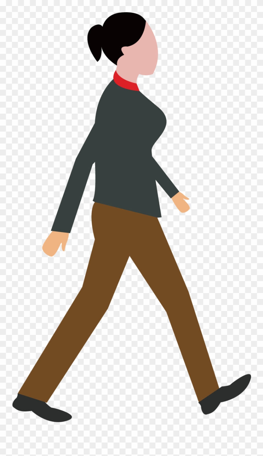 Walking Cartoon Png.