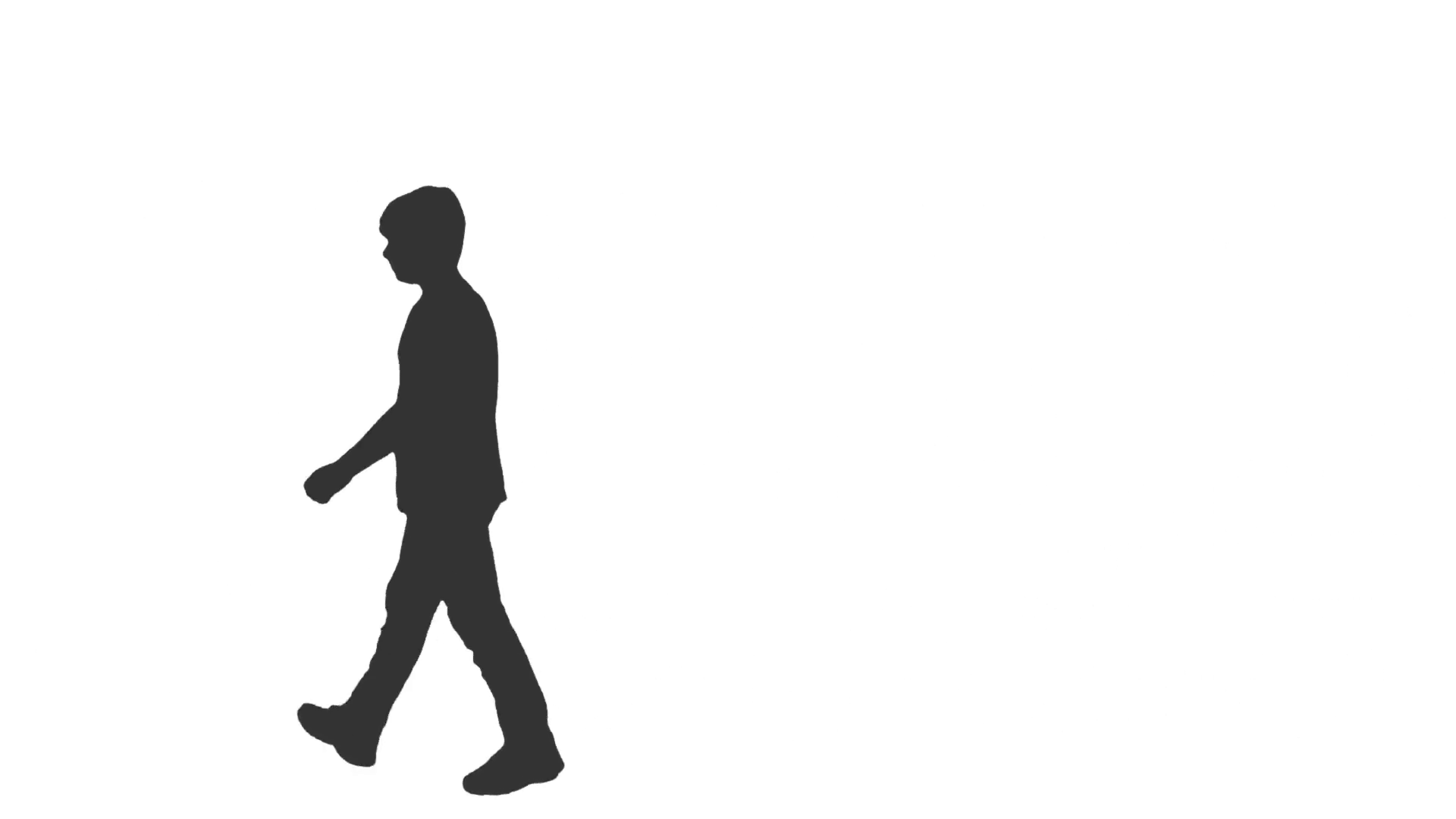 Silhouette Of Person Walking at GetDrawings.com.