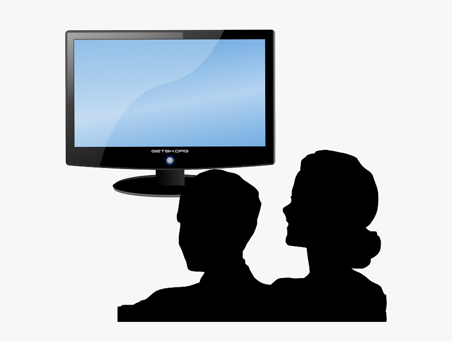 People Watching Tv Clip Art , Free Transparent Clipart.