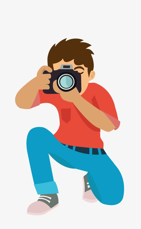Photo, Slr Camera, Holding A Camera, Squ #67629.