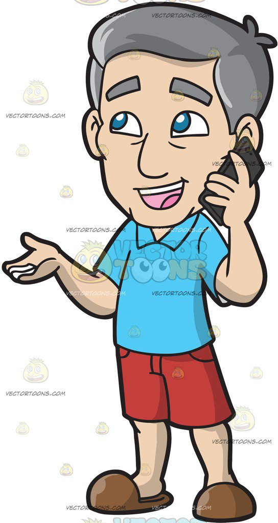 Person on phone clipart 2 » Clipart Station.
