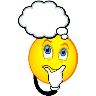 Person With Thinking Bubble Clipart.