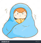 Clip Art of Warm Blankets.