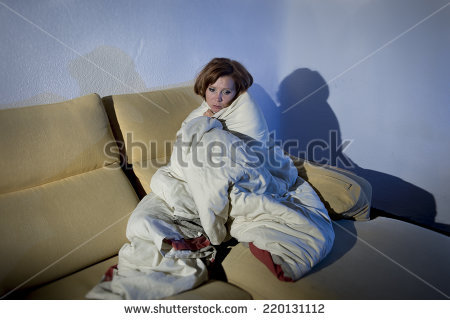 Wrapped In A Blanket Stock Images, Royalty.