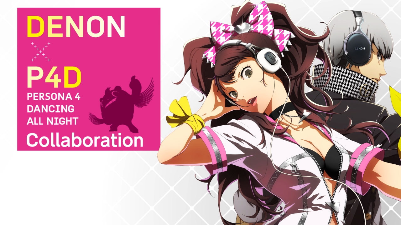 DENON Collaborates With Persona 4: Dancing All Night For Exclusive.