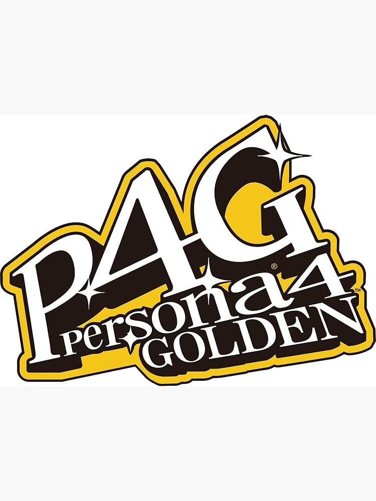 Persona 4 Golden logo.