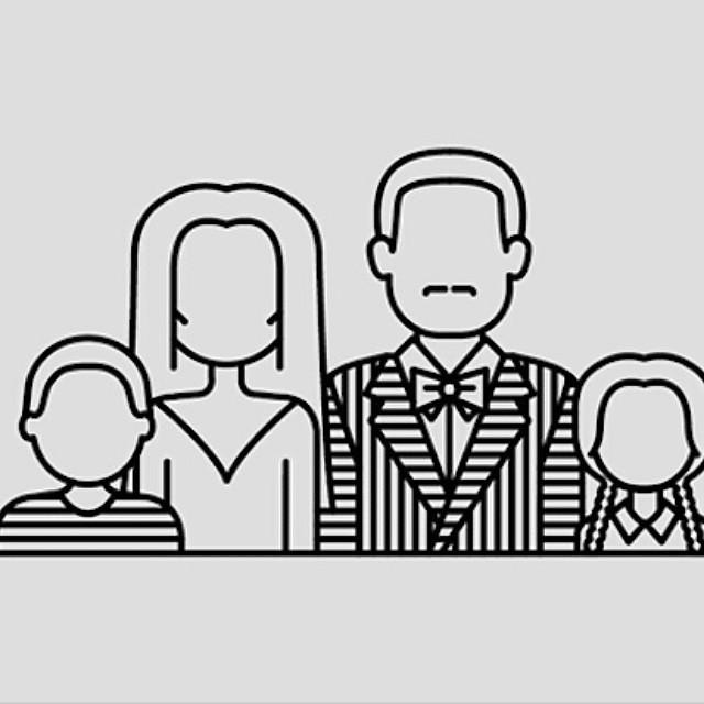 Ilustraciones minimalistas de personajes de terror Artista.