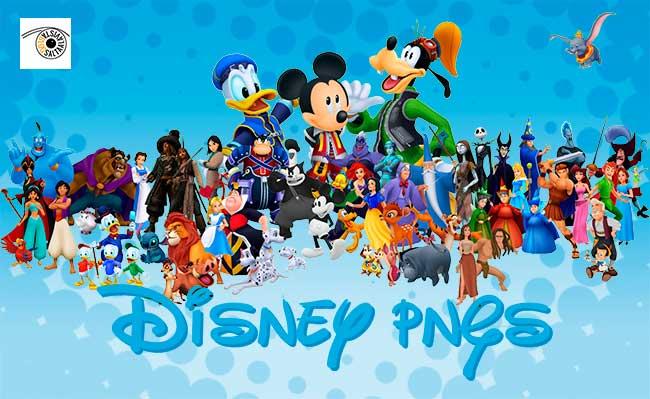 100 Personajes Disney de Ayer y de Hoy en PNG.
