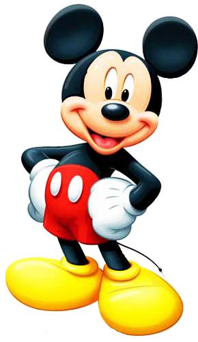 100 renders de personajes de Disney en .PNG.