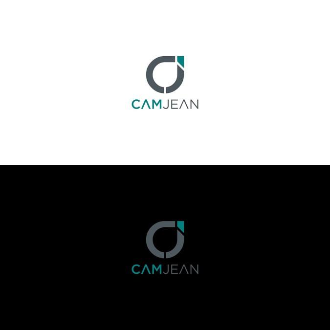 CamJean: Sleek & Unique Logo & Website for Personal Branding.