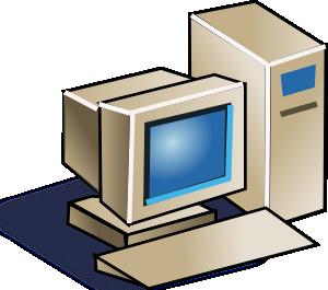 Personal Computer Clip Art at Clker.com.