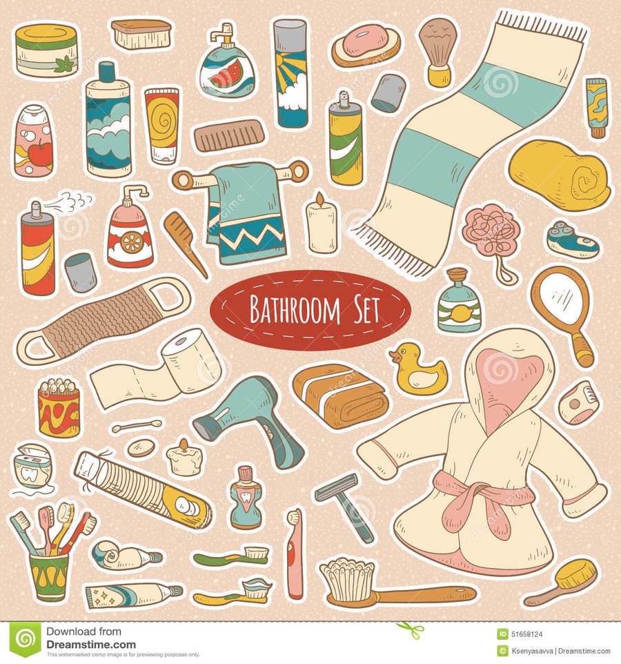 Download articulos de limpieza personal clipart Bathroom.