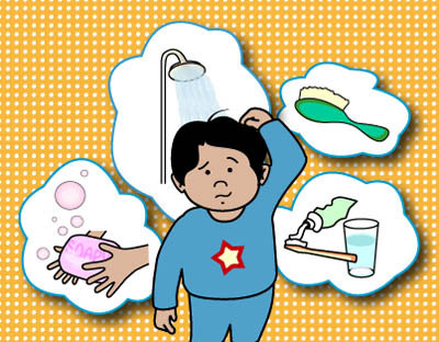 Personal hygiene clipart 7 » Clipart Station.