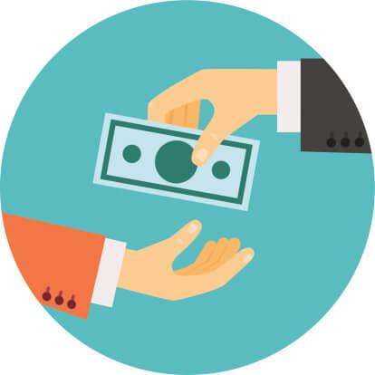 Lending Money Clipart.