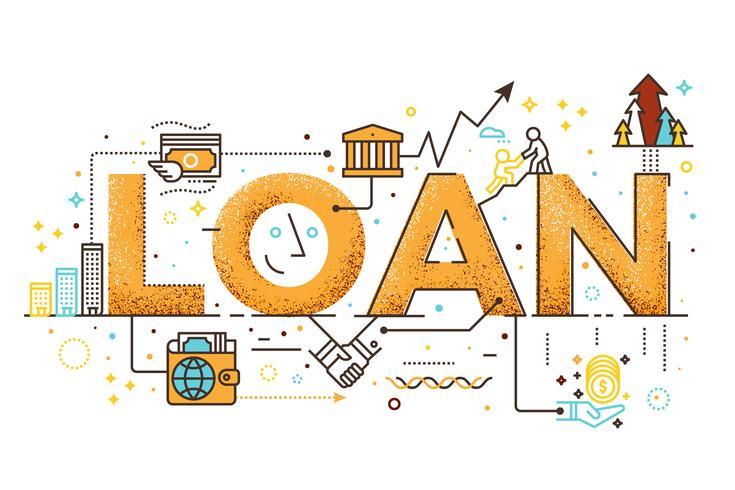 Personal loan illustration.