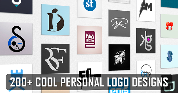 200+ Best Personal Logo Design Examples for Inspiration.