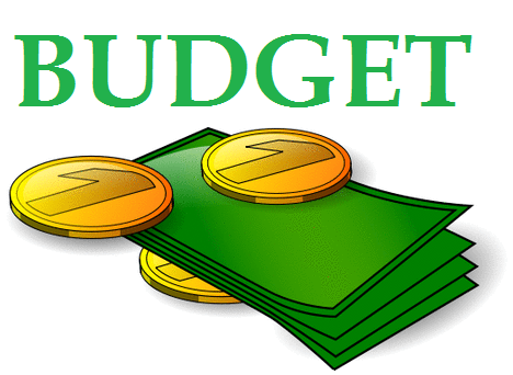 Budget Report Clipart.