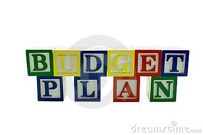 Budget plan clipart.