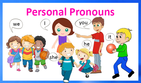 Personal pronouns. What are personal pronouns? How do we use.