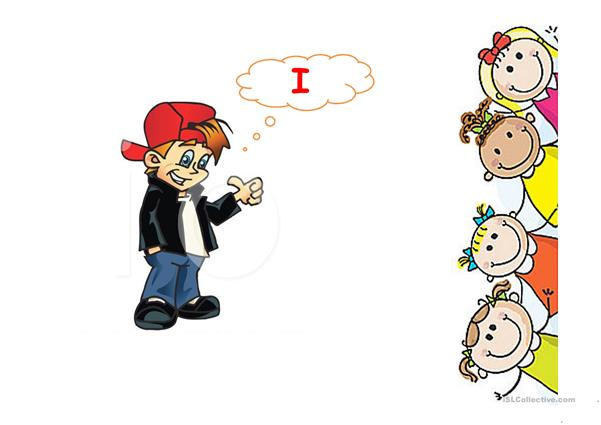 the verb to be + personal pronouns with exercises.