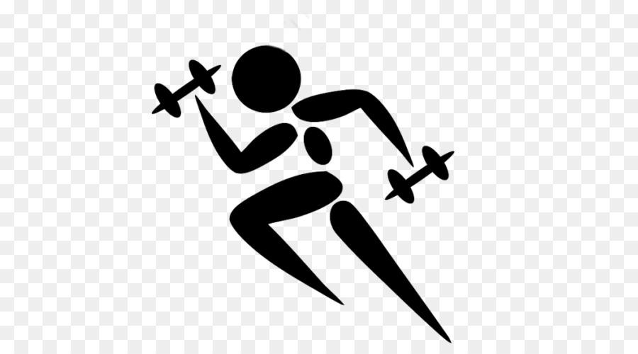 Fitness Cartoon clipart.