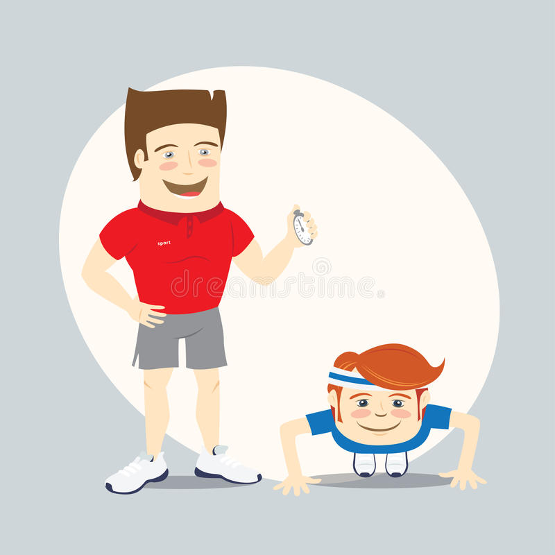 Collection of free Exercised clipart fitness trainer.