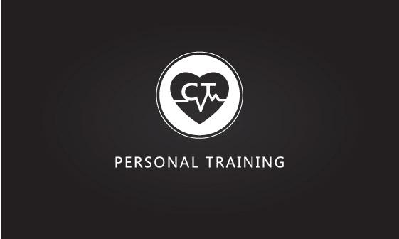 CT personal training logo on Behance.