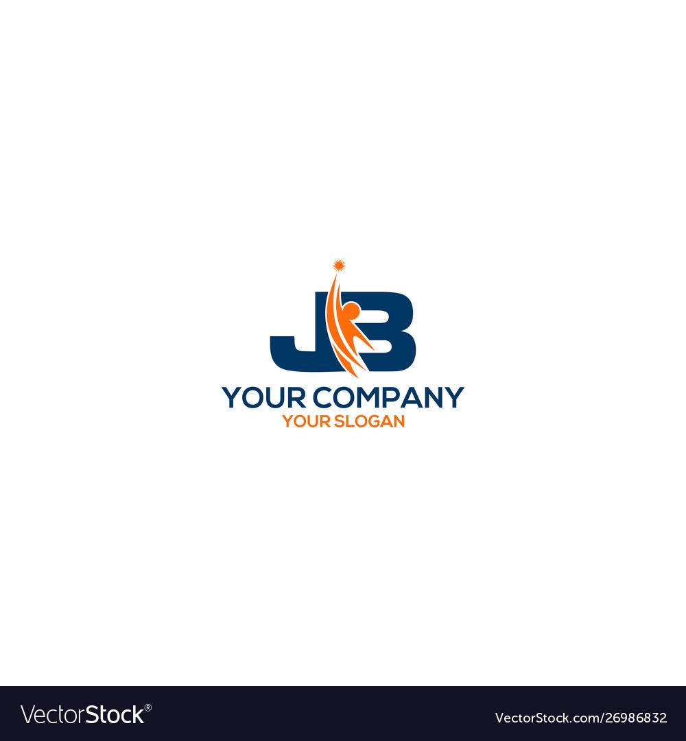 Jb personal training logo design.