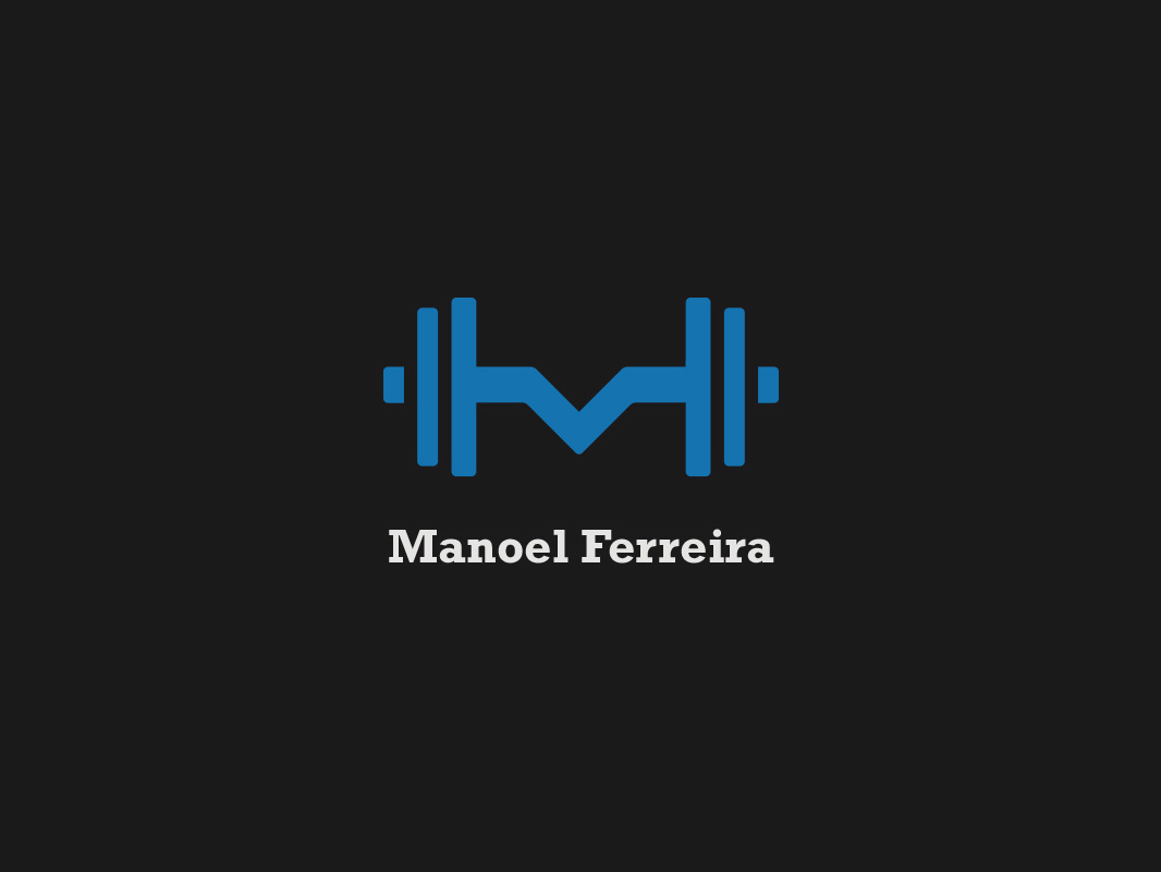 Personal Trainer Logo by Gabriel Lima on Dribbble.