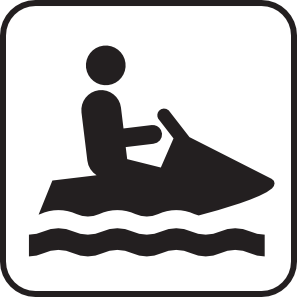 Personal Water Craft Watercraft White Clip Art at Clker.com.