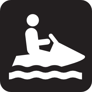 Personal Water Craft Watercraft Black Clip Art at Clker.com.