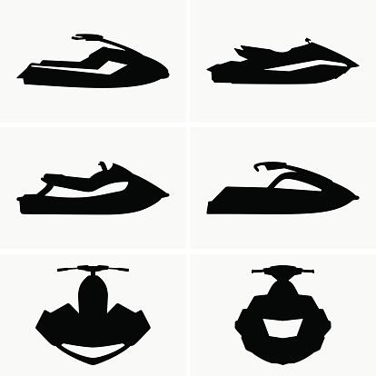 Jet Ski Clip Art, Vector Images & Illustrations.