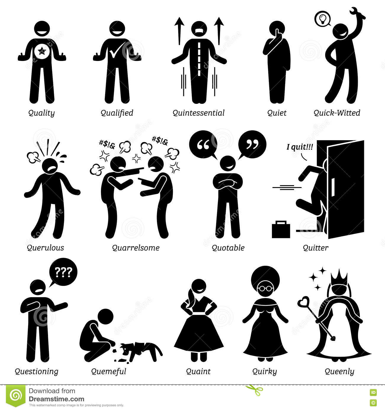 Personalities clipart #12