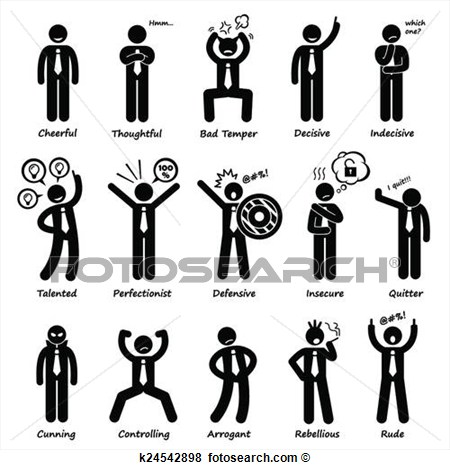 Personality Clipart.