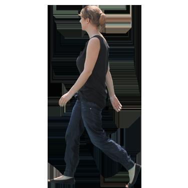Personas caminando png 1 » PNG Image.
