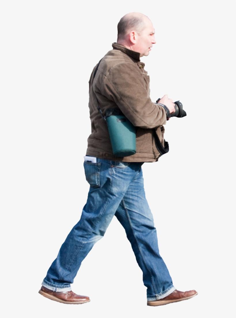 Personas Caminando Png.