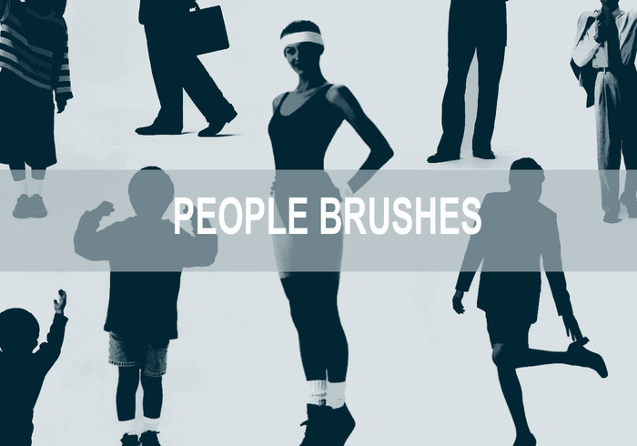 People Brushes.