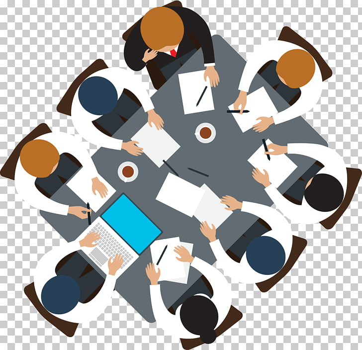 Icono de reunión de negocios, conocer gente, grupo de.