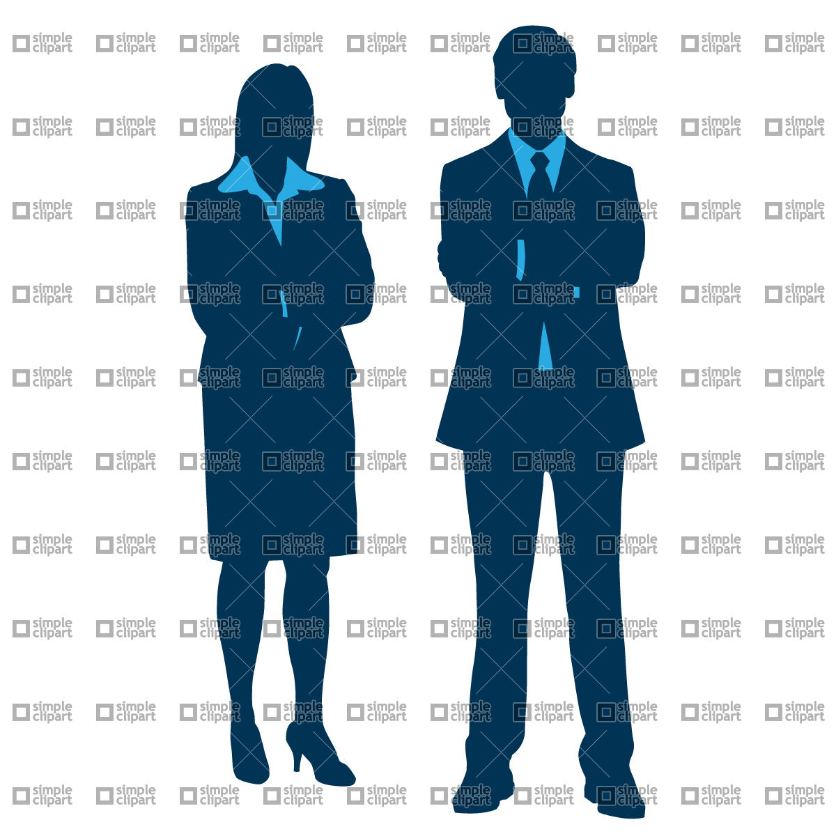 Office Personnel Clipart.