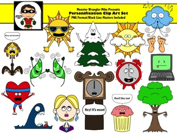 Personification Clip Art Collection.