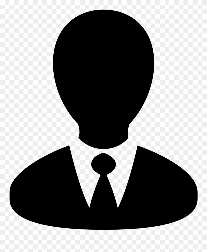 Clip Black And White Computer Svg Business Person.