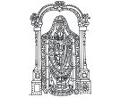 Sri Vengadesha Srinivasa Govenda Gopala God Clip Art free.