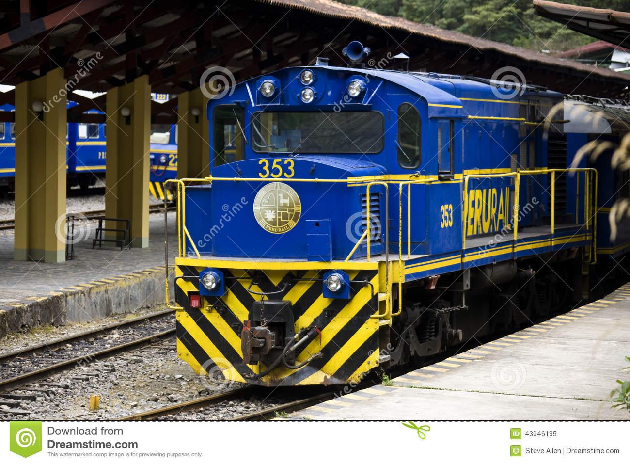Perurail Trains.