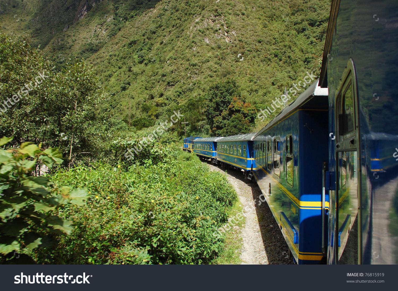 Peru Rail Cuzco Machu Picchu Peru Stock Photo 76815919.