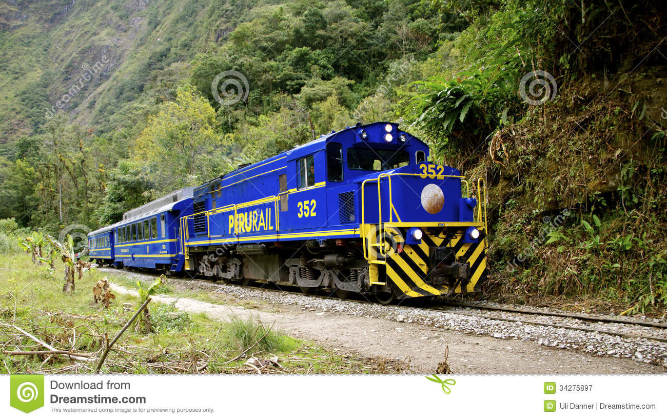 Peru Rail Editorial Photography.