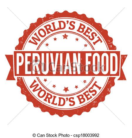 Peruvian Food Clipart.